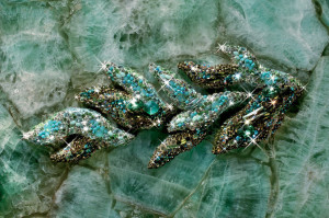 The use of turquoise