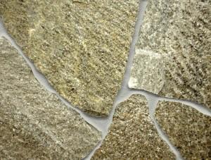 Decorative features of quartzite