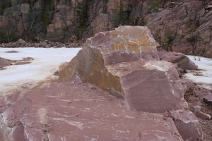 Types of quartzite