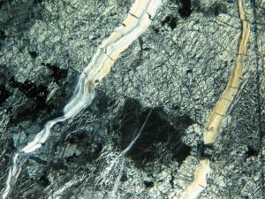 Texture of noble serpentinite