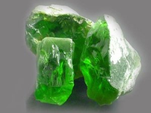 From the history of chrysolite
