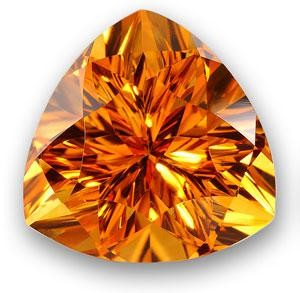 Artificial citrine