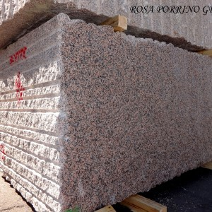 Rosa Porrino Com Granite