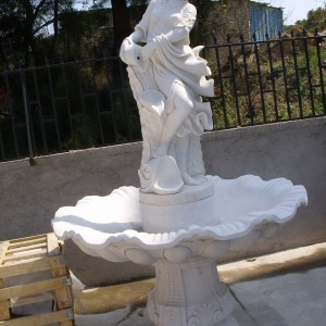 Lady White Sculpture