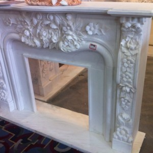 White Flavour Fireplace